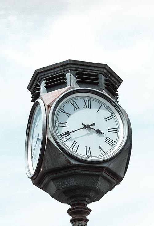 horloge arts décoratifs
