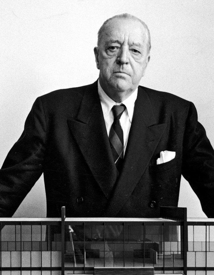 Ludwig Mies van der Rohe designer Bauhaus