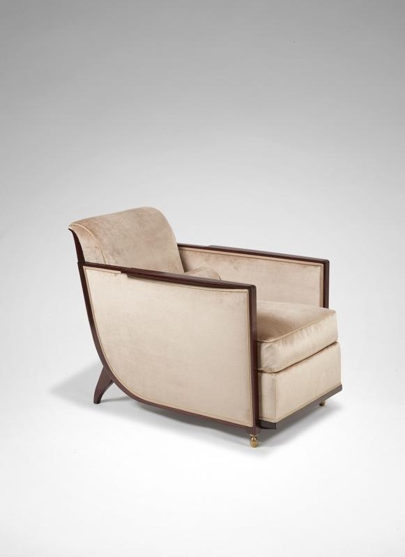fauteuil mythique art déco par Emile Jacques Ruhlmann