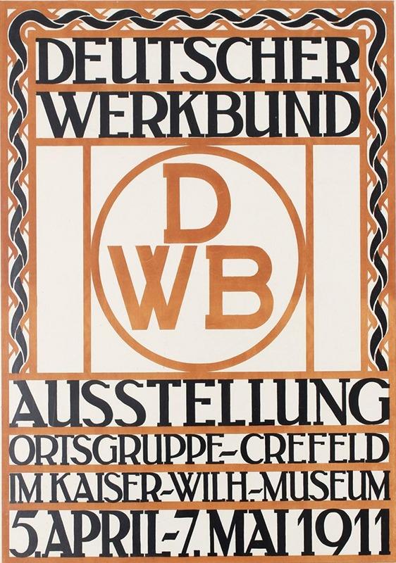 detuscher werkbund affiche