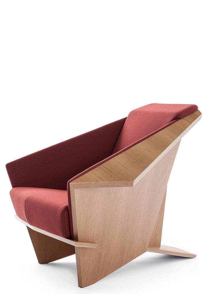 Art international, chaise origami franck lloyd wright