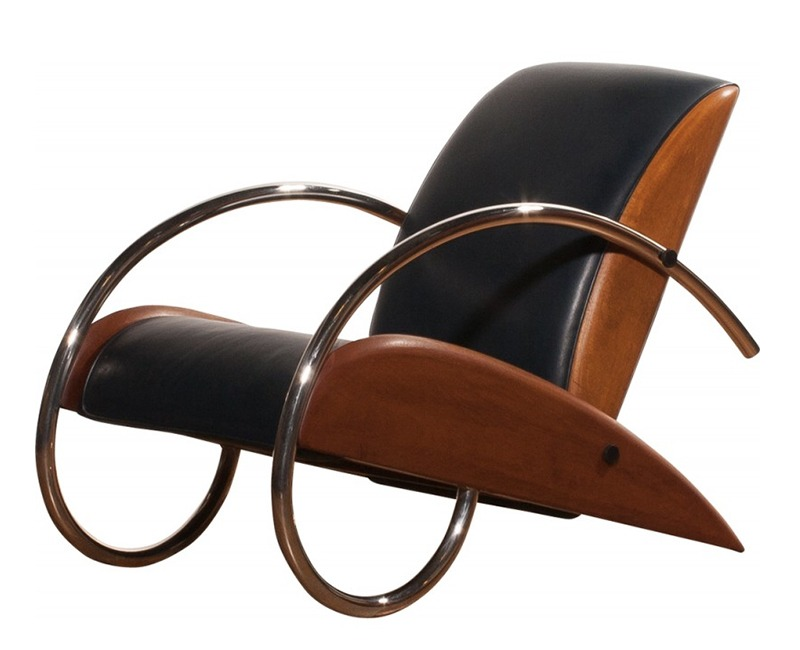 art moderne streamline fauteuil