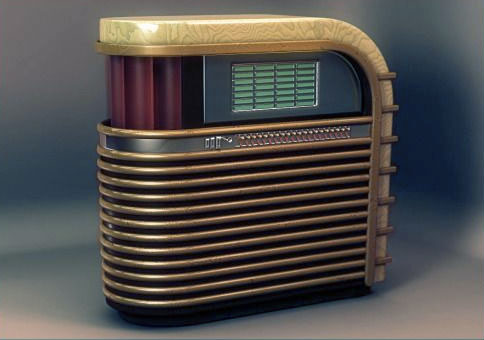 Jukebox Gabel Kuro Streamline par Brooks Stevens