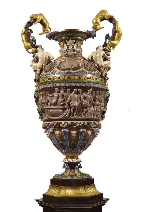 vase style renaissance periode haute