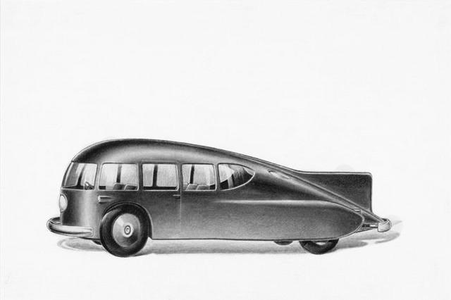 norman bel geddes design futuriste streamline