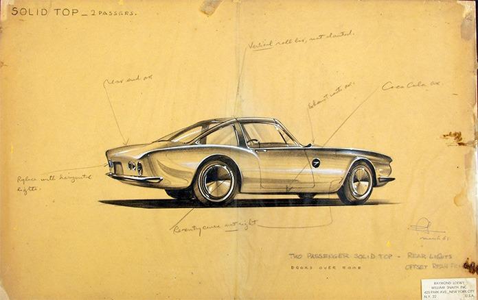 Raymond Loewy design streamline