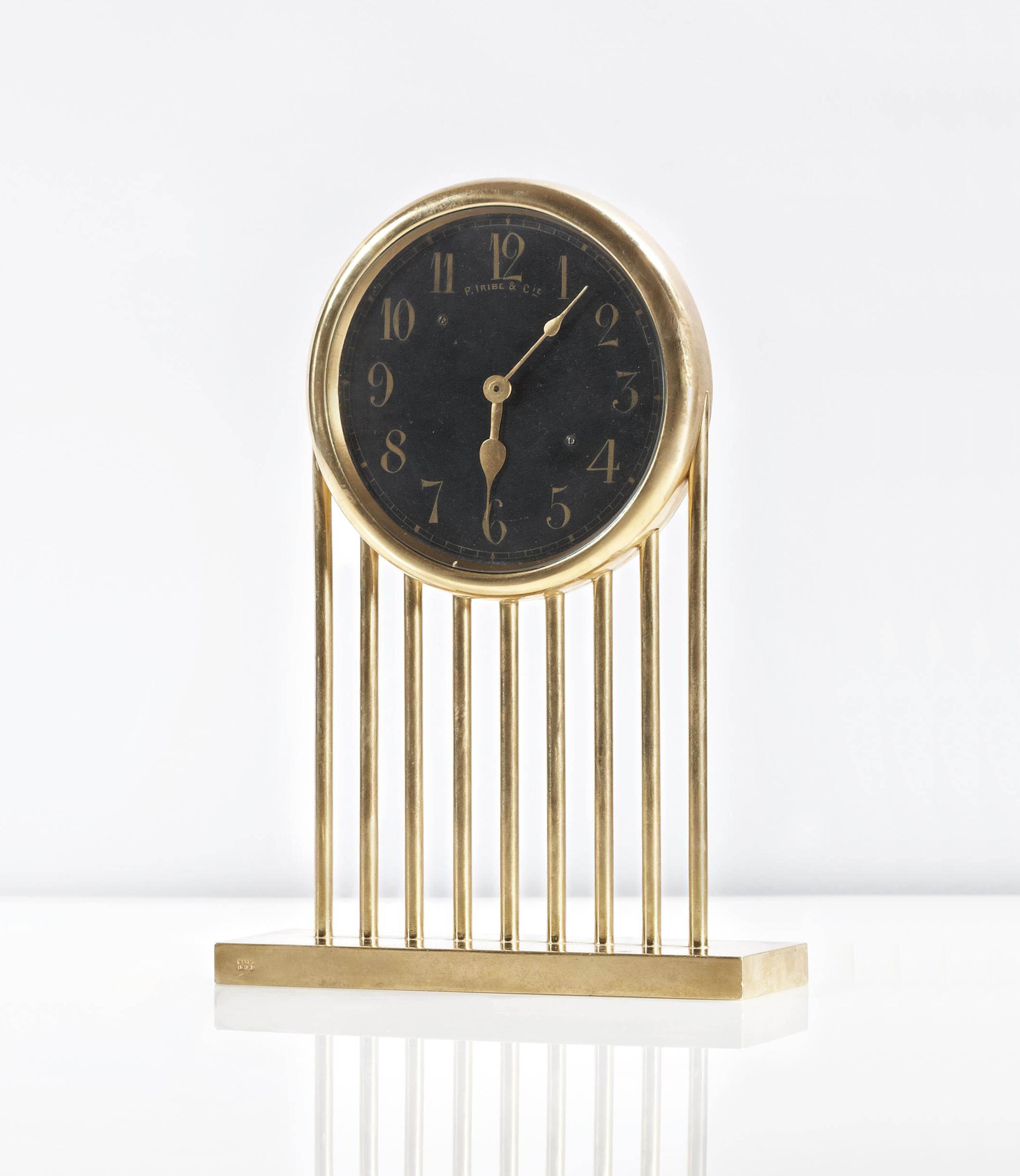 paul iribe horloge art deco