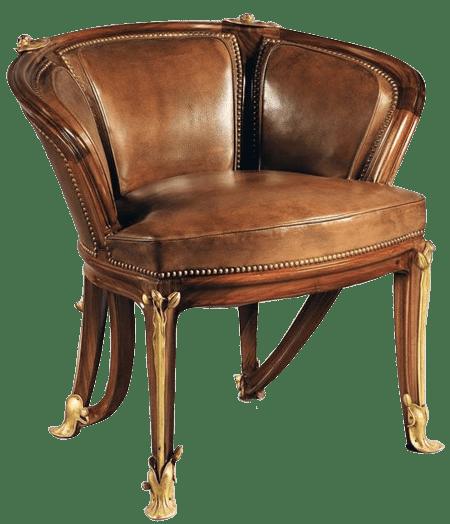 fauteuil art nouveau de louis majorelle