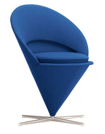 chaise cone, mobilier pop art