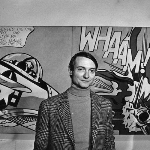 Roy Lichtenstein, artiste du mouvement pop art
