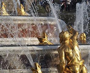 Fontaine d'arts décoratifs de la période classique