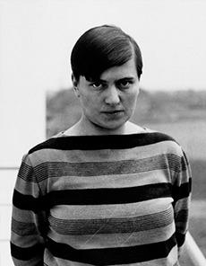 Portrait de Marianne Brandt, designer Bauhaus