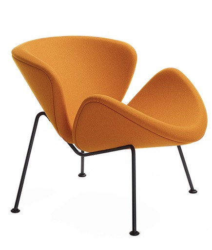orange slice chair f437, le fauteuil de Pierre Paulin
