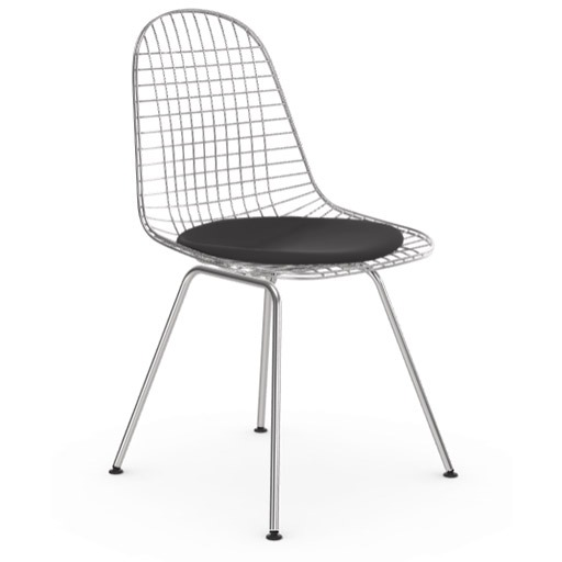 La Wire chair DKX, mobilier Paquebot ou Streamline