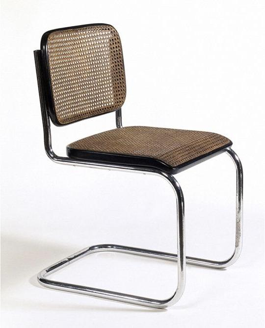 chaise Bauhaus B32 de Marcel Breuer