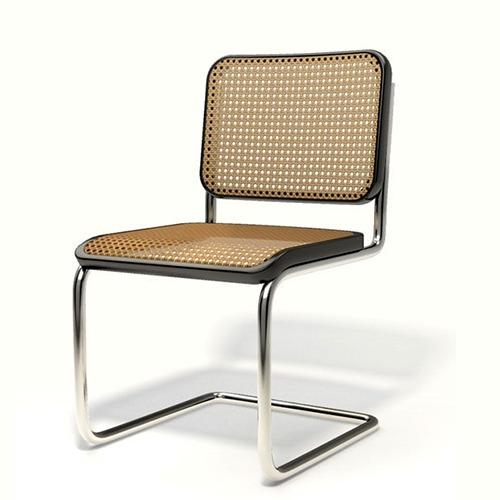 chaise b32 du designer Marcel Breuer