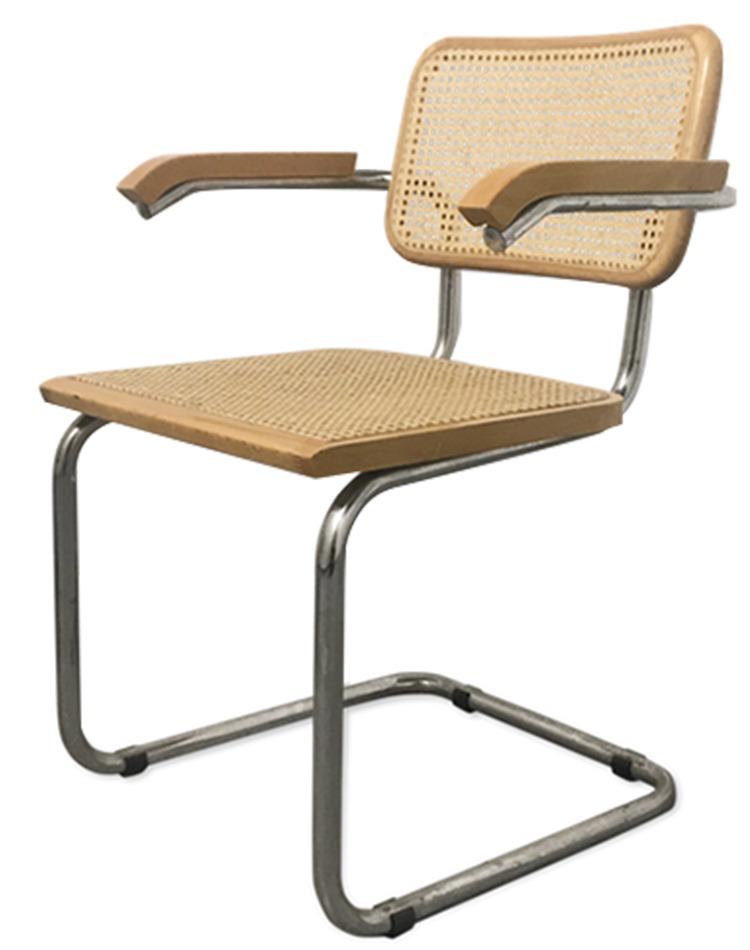 chaise B64 Cesca de Marcel Breuer