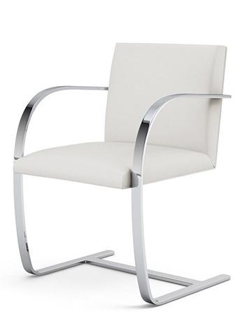 Chaise BRNO en version blanche