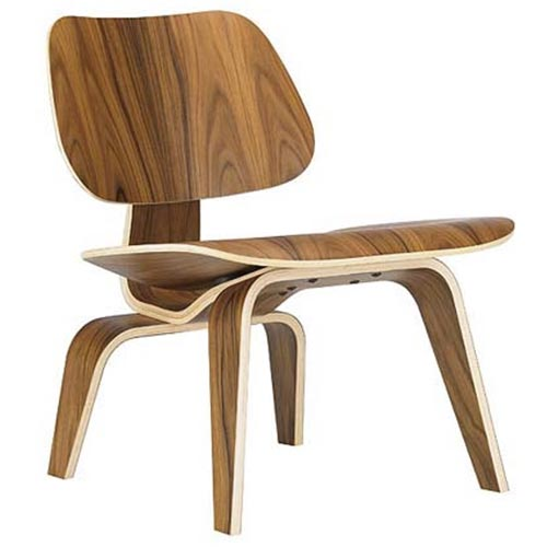 chaise LCW lounge chaise wood de Charles et Ray Eames