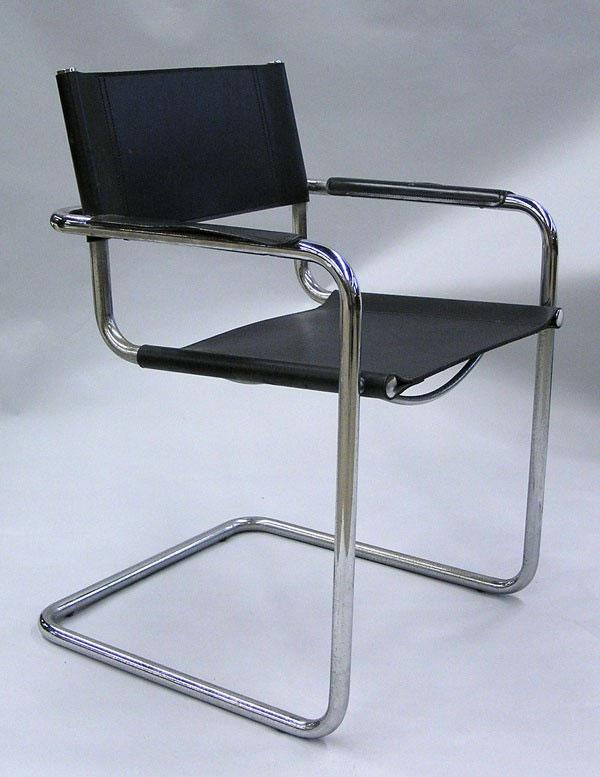 fauteuil cesca b34, une oeuvre bauhaus très célèbre du designer Marcel Lajos Breuer
