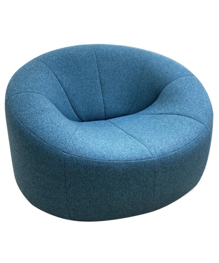 chaise pumpkin du designer français Pierre Paulin