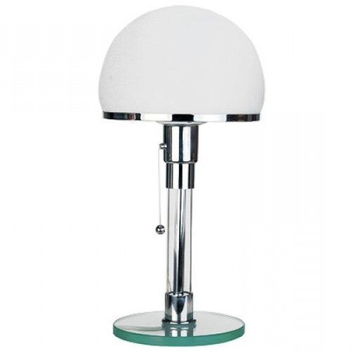 Lampe WG24 Wagenfeld, icône du mobilier Bauhaus