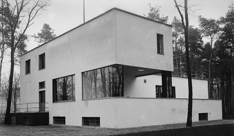 Maison de maîtres Bauhaus de Walter gropius