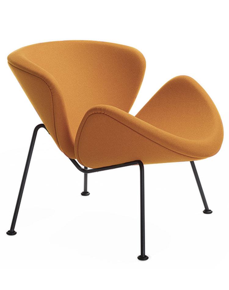 Orange Slice Chair de Pierre Paulin