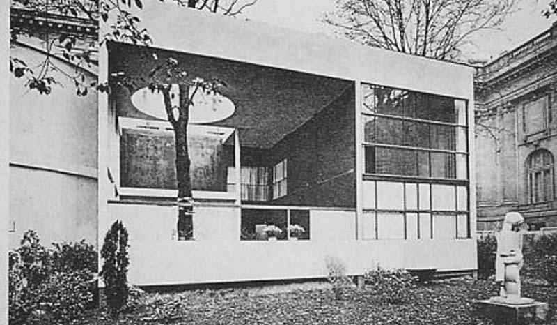 Le pavillon Esprit Nouveau du designer Le Corbusier