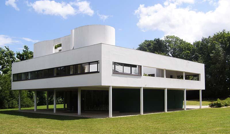 Villa Savoyer de Le Corbusier à Poissy près de Paris