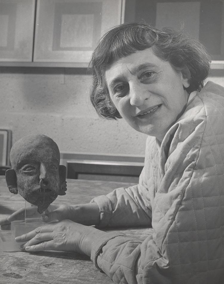 Anni Albers du Bauhaus