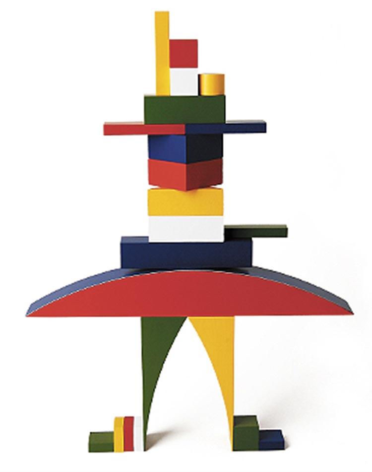 Jouet Naef du Bauhaus par Alma Buscher
