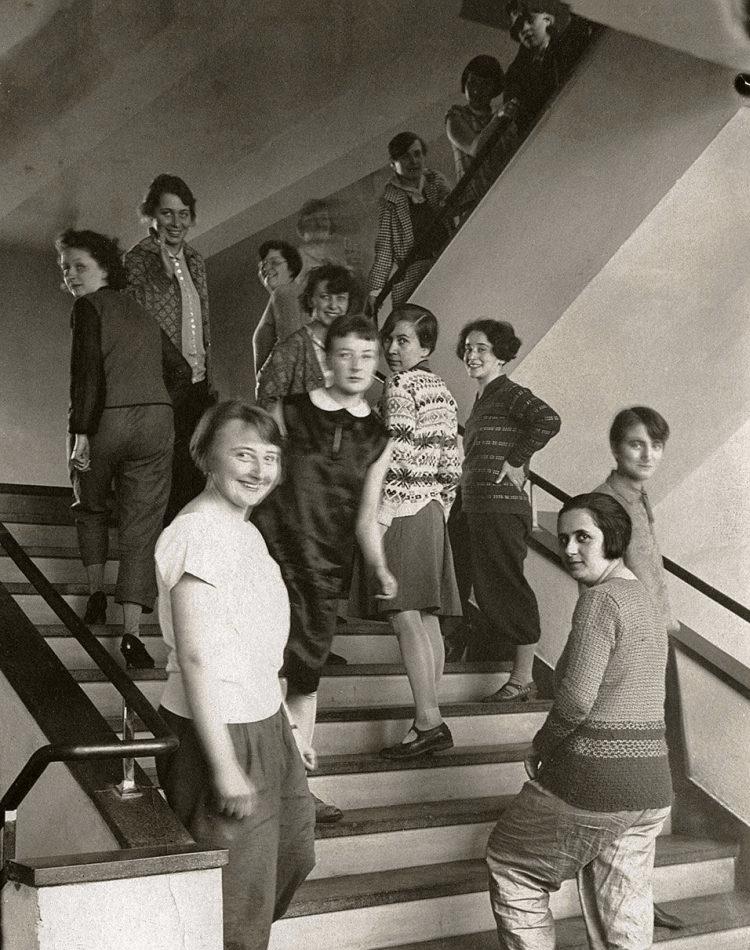 étudiantes de l'école Bauhaus, donc Benita Koch Otte