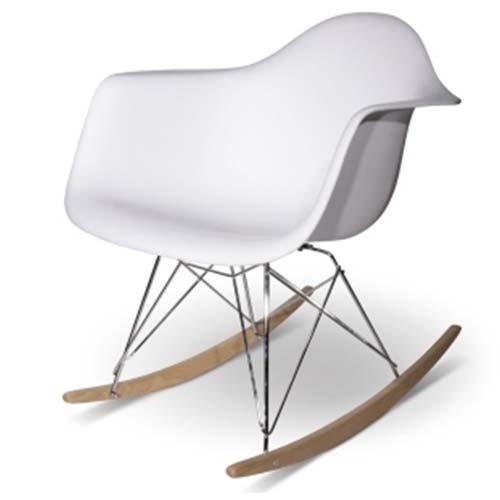 fauteuil à bascule RAR Eames de Ray et Charles Eames