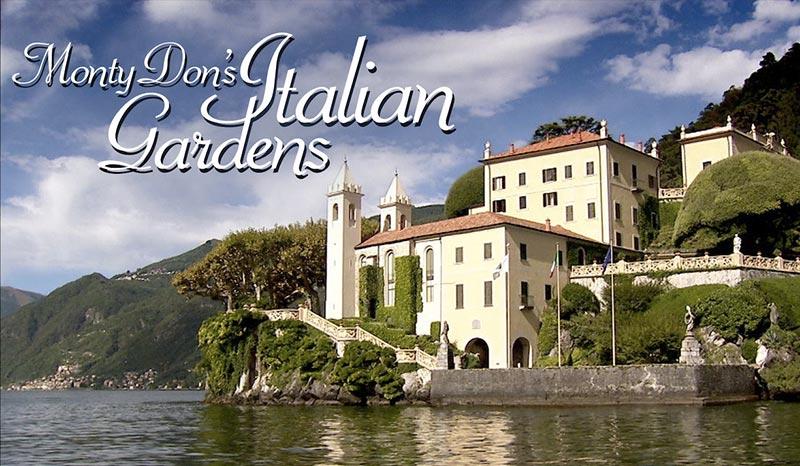 une série netflix sur le jardinage et le paysagisme : monty don's italian gardens