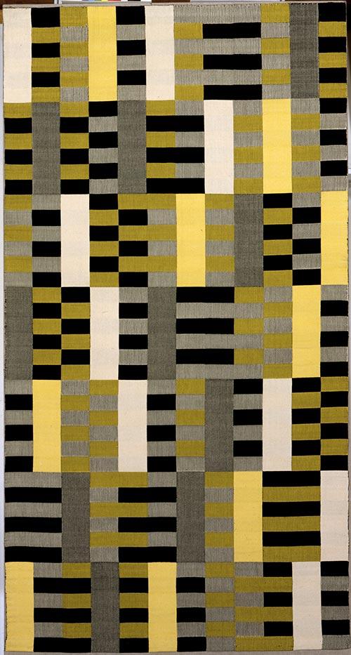 Tissage géométrique de Anni Albers