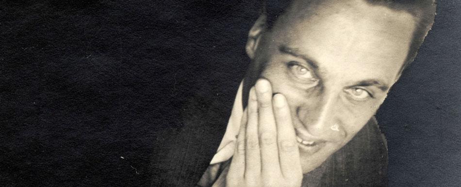 Mart Stam, portrait en noir et blanc