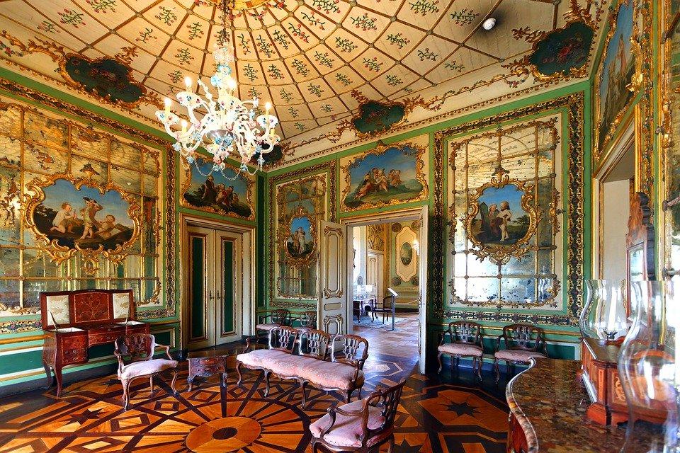Aménagement d'intérieur de style Rococo