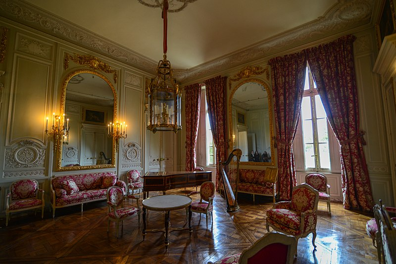 Une déco d'intérieur Rococo