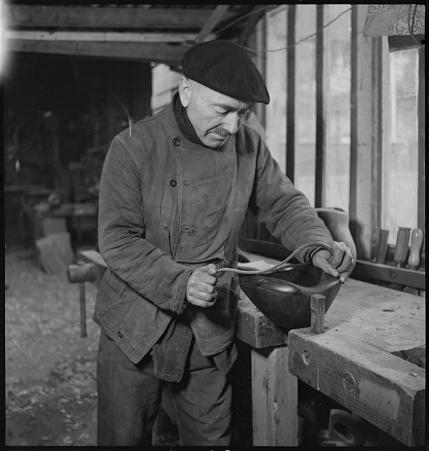 Alexandre Noll dans son atelier