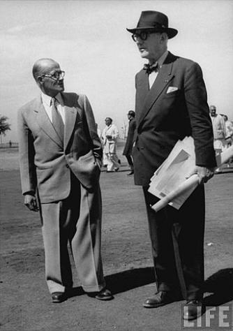 Pierre Jeanneret et Le Corbusier