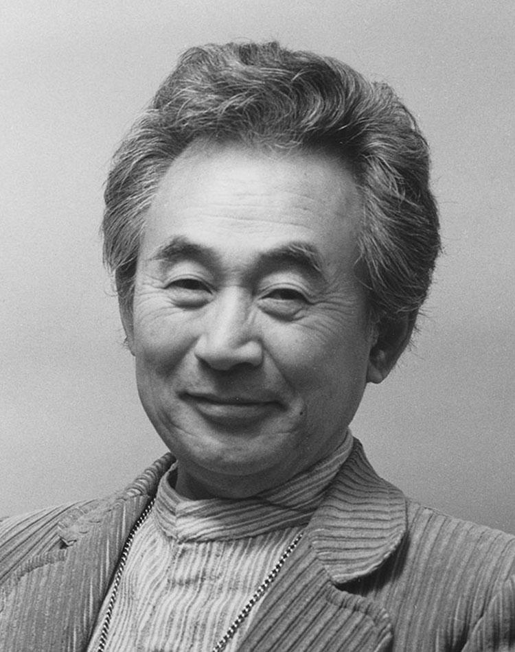 portrait en noir et blanc de Sori Yanagi